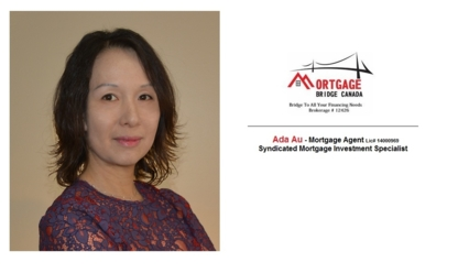 Ada Au-Mortgage Agent / Mortgage Investments - 416-417-0177