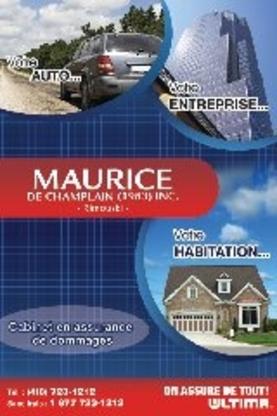 Assurance Agence Maurice de Champlain (1983) - Assurance - 418-723-1212