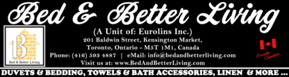 Eurolins Inc - Bedding & Linens - 416-593-4887