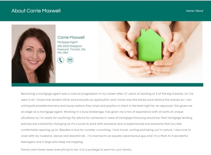 Carrie Maxwell - Mortgage Brokers - 519-781-8140
