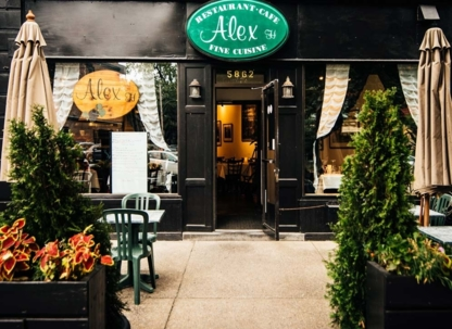 Alex H Restaurant - French Restaurants - 514-487-5444
