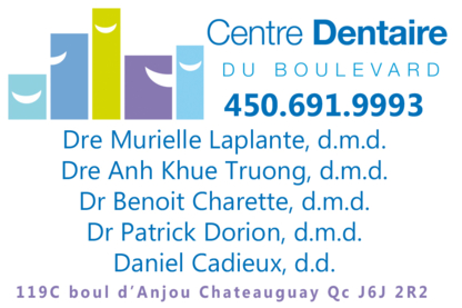 Centre Dentaire Du Boulevard - Dentistes - 450-691-9993