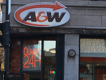 A&W - Burger Restaurants - 514-281-5534