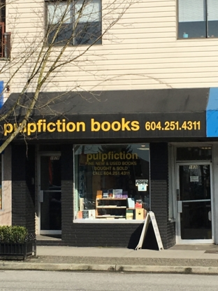 Pulpfiction - Book Stores - 604-251-4311