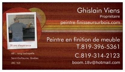 Ghislain Viens Peintre Finisseur Enr - Réparation, réfection et décapage de meubles - 819-396-5361