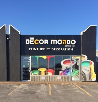 Décor mondo peinture décoration magasins de peinture 450 629 0709