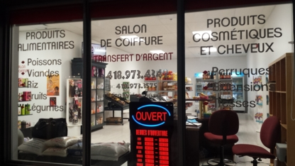 Exotica Epicerie Salon De Coiffure - Gourmet Food Shops - 418-973-4342