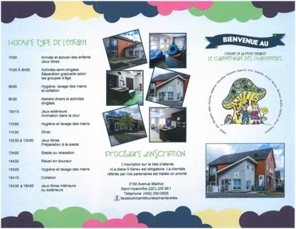 Voir le profil de Centre De La Petite Enfance Le Carrefour des Chanterelles - Saint-Hyacinthe