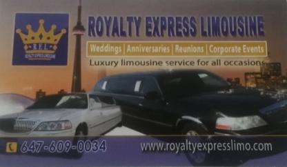 Royalty Express Limousine - Limousine Service