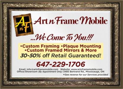 View Art n Frame Mobile's Milton profile