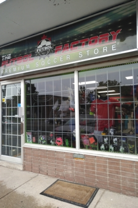 The Futbol Factory Store - Restaurants - 416-792-2266