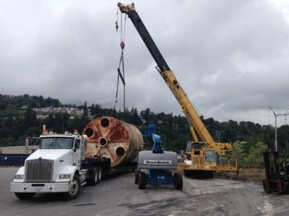 Mainland Crane Service & Trucking Ltd - Crane Rental & Service - 604-792-4840