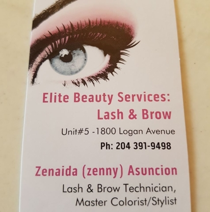 Elite Beauty Services: Lash and Brows - Beauty & Health Spas - 204-505-8188