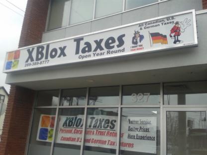 Xblox Taxes - Tax Return Preparation - 289-389-8777