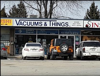 Vacuums & Things - Home Vacuum Cleaners