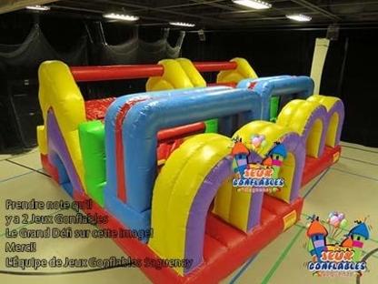 Gizmo Amusement - Jeux Gonflables Saguenay - Jeux et activités d'aventure