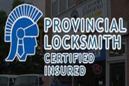 Provincial Locksmith Inc - Locksmiths & Locks