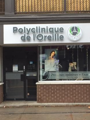Polyclinique de l'Oreille - Audiologistes - 438-386-6233