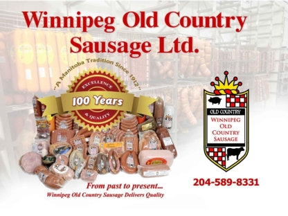 Winnipeg Old Country Sausage Ltd - Meat Wholesalers - 204-589-8331