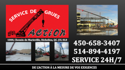 Voir le profil de Action Service De Grues Inc - Pointe-Claire