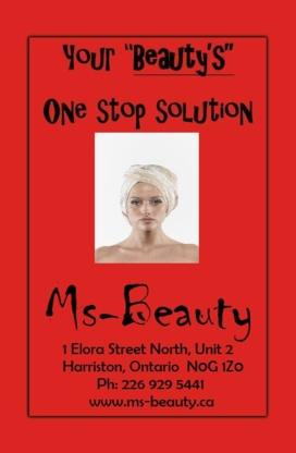 Ms-Beauty - Beauty & Health Spas - 226-929-5441