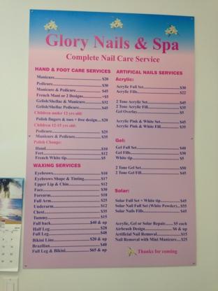 Glory Nails & Spa - Épilation à la cire - 604-510-4488