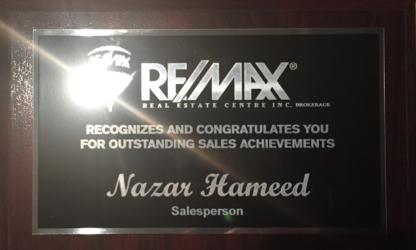 Nazar Hameed-RE/MAX Real Estate Centre Inc Brokerage - Real Estate Agents & Brokers - 647-975-7788
