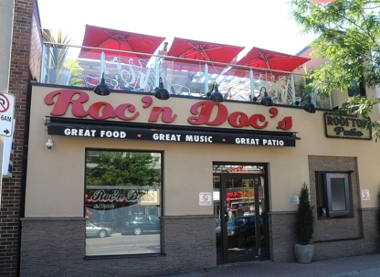 Roc'N Doc's Bar And Grill - Steakhouses - 289-724-3552