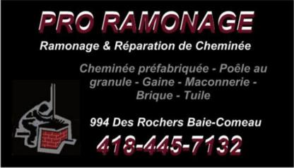 Pro-Ramonage - Ramonage de cheminées