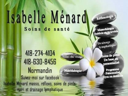 Isabelle Ménard Soins de Santé - 418-274-4104