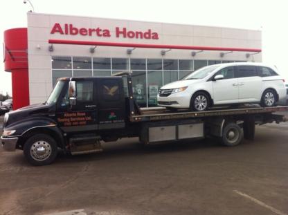 Alberta Rose Towing Ltd - Vehicle Towing