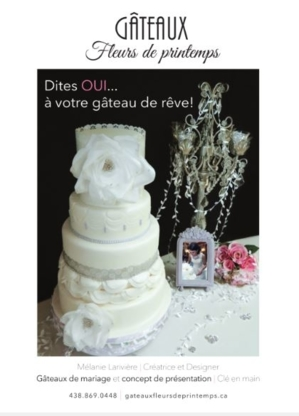 Gateaux Fleurs de Printemps - Cake Making Supplies & Decorations