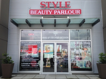 Style Beauty Parlour - Laser Hair Removal - 778-908-3946