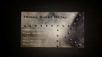 Trimac Sheet Metal - Sheet Metal Work