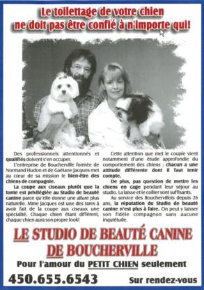 View Studio de Beauté Canine de Boucherville's Saint-Bruno profile