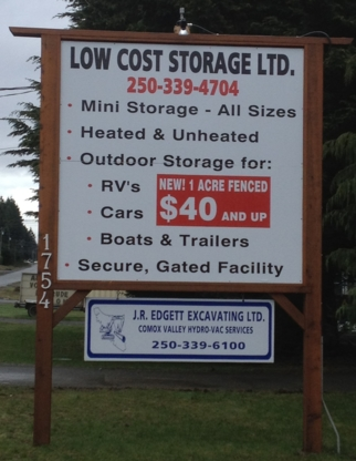 Low Cost Storage Ltd - Self-Storage