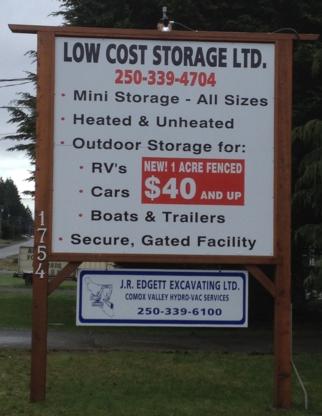 Low Cost Storage Ltd - Self-Storage - 250-339-4704