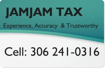JamJam Tax - Tax Return Preparation - 306-241-0316