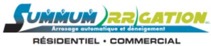 Summum Irrigation - Systèmes et matériel d'irrigation - 450-368-5725