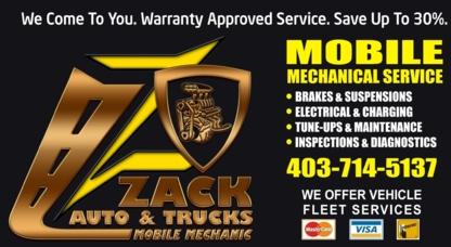 Zack Auto & Trucks - Auto Repair Garages - 403-714-5137