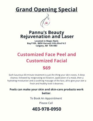 Pannu's Beauty Rejuvenation And Laser - Estheticians