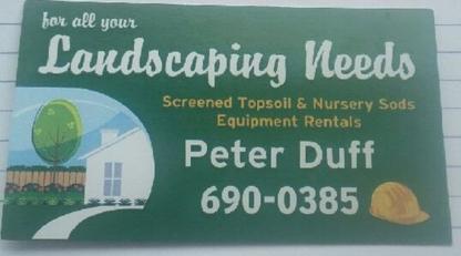 Duff Landscaping Ltd - Paysagistes et aménagement extérieur