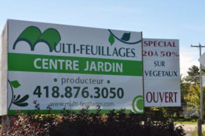 Multi-Feuillages Inc - Centres du jardin - 418-876-3050