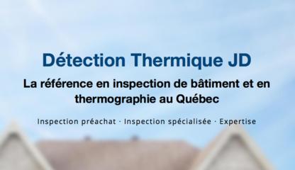 Détection Thermique JD - Inspection de maisons