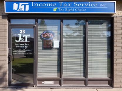 J & T Income Tax Service Inc - Tax Return Preparation - 306-975-9895