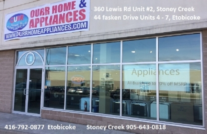 Ourr Home And Appliances - Major Appliance Stores - 416-792-0877