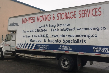 Mid-West Moving & Storage Services Inc - Moving Services & Storage Facilities - 403-250-2944