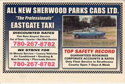 Sherwood Park Cabs - Taxis - 780-267-8782