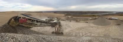 Arnold's Sand & Gravel Ltd - Services pour gisements de pétrole