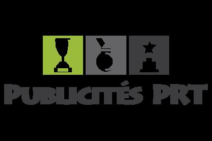 Publicité P R T Inc - Trophées et coupes - 418-843-1349